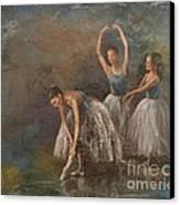 Ballet Dancers Canvas Print by Susan Bradbury