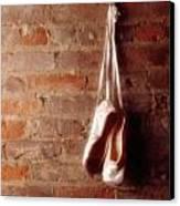 Ballet On Brick Canvas Print by Jon Neidert