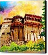 Baltit Fort Canvas Print by Catf