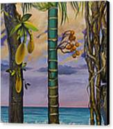 Banana Country Canvas Print by Vrindavan Das