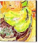 Bananas From Paphos 2 Canvas Print by Anita Dale Livaditis