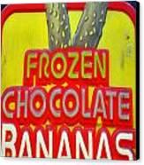 Bananas Canvas Print by Skip Willits
