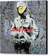 Banksy  Canvas Print by A Rey