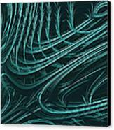 Barbed Canvas Print by John Edwards