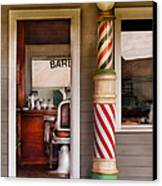 Barber - I Need A Hair Cut Canvas Print by Mike Savad