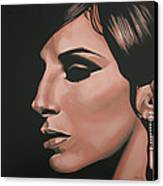 Barbra Streisand Canvas Print by Paul Meijering