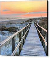 Barefoot Canvas Print by JC Findley