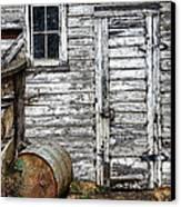 Barn Door Canvas Print by Armando Picciotto