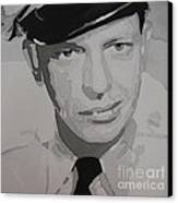 Barney Fife Contrast Canvas Print by Jules Wagner
