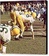 Bart Starr  Canvas Print by Retro Images Archive