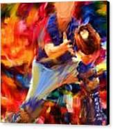 Baseball II Canvas Print by Lourry Legarde