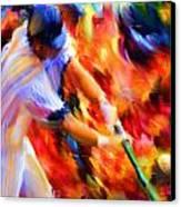 Baseball IIi Canvas Print by Lourry Legarde