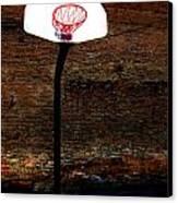 Basketball Canvas Print by Lane Erickson