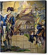 Bastille Metro No 1 Canvas Print by A Morddel