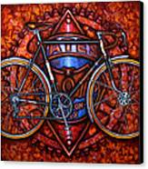 Bates Bicycle Canvas Print by Mark Howard Jones