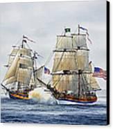 Battle Sail Canvas Print by James Williamson