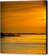 Bayport Dolphins Canvas Print by Marvin Spates