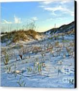 Beach Stairs Canvas Print by Michelle Wiarda