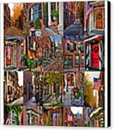 Beacon Hill - Poster Canvas Print by Joann Vitali
