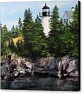 Bear Island Lighthouse Canvas Print by Jack Skinner