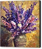 Beaujolais Bouquet Canvas Print by David Lloyd Glover