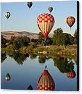 Beautiful Balloon Day Canvas Print by Carol Groenen
