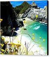 Beautiful Big Sur Canvas Print by Marin Packer