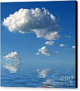 beautiful Clouds Canvas Print by Boon Mee