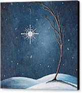 Beautiful Winterland By Shawna Erback Canvas Print by Shawna Erback