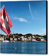 Beauty Of Lucerne Canvas Print by Mountain Dreams