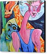 Becoming My Self Canvas Print by Beverley Harper Tinsley