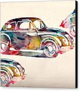 Beetle Car Canvas Print by Mark Ashkenazi