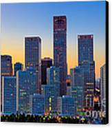 Beijing Central Business District Canvas Print by Fototrav Print