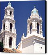 Bell Towers Canvas Print by Mary Bedy