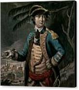 Benedict Arnold Canvas Print by English School
