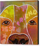 Best Friend Canvas Print by Roger Wedegis