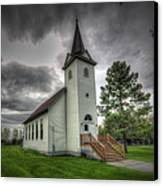 Bethany Prairie Church Canvas Print by David Foster