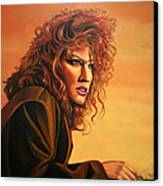 Bette Midler Canvas Print by Paul Meijering