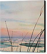 Beyond The Sand Canvas Print by Hanne Lore Koehler