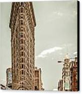 Big In The Big Apple Canvas Print by Hannes Cmarits