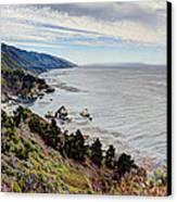 Big Sur Serenity  Canvas Print by Heidi Smith