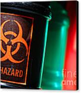 Biohazard Canvas Print by Olivier Le Queinec