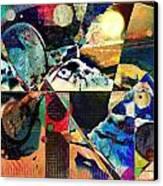 Birds And Music Canvas Print by YoMamaBird Rhonda