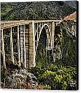 Bixby Creek Bridge Canvas Print by Heather Applegate