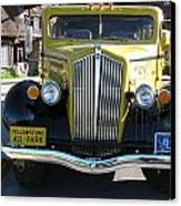 Black And Yellow Canvas Print by Steven Parker