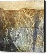 Black Canyon Canvas Print by Brett Pfister