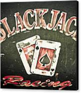 Black Jack Racing Canvas Print by Phil 'motography' Clark