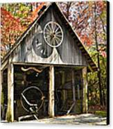 Blacksmith Shop Canvas Print by Susan Leggett