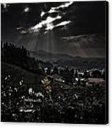 Blessed By Light Canvas Print by Michael  Bjerg