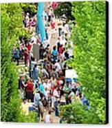 Block Party Canvas Print by Jim Emmons